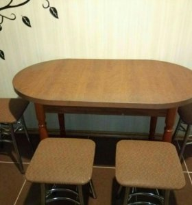 Кухонный гарнитур & стол со стульями