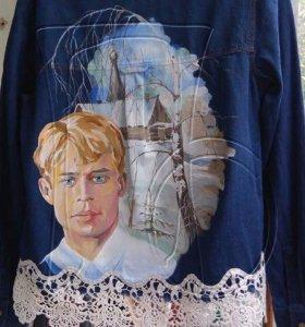 Джинсовка рубашка