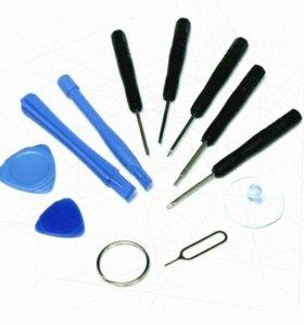 Набор инструментов для ремонта сотовых, планшетов