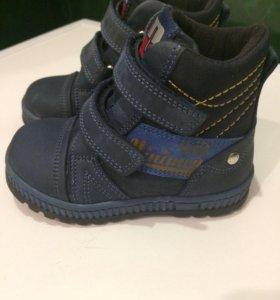 Детские ботинки minimen 21 размер
