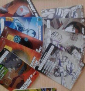Коллекционные карточки Черепашки-ниндзя