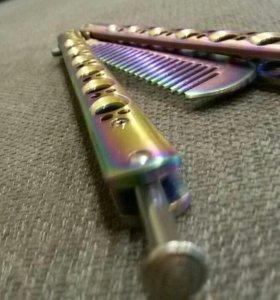 Нож - бабочка ( расческа )