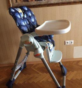 Детский стульчик для кормления Chicco Polly