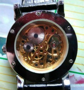 Часы мужские скелетоны
