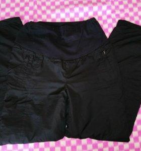 Теплые штаны для беременных на флисе Буду мамой