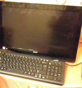 Моноблок Acer ZC-606 чёрный