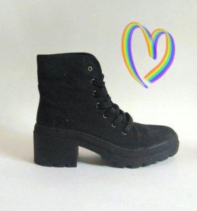 Ботинки ботильоны cropp