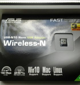 WiFi адап.Asus USB-N10NANO