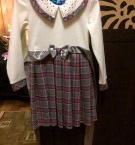 Платье для девочки 110р