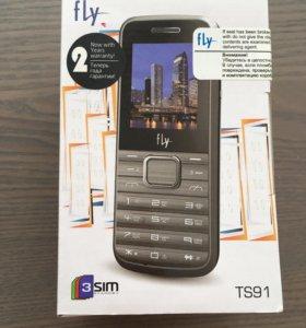 Телефон Fly TS91