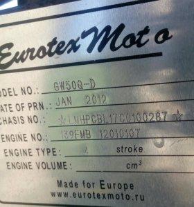 Мопед Evrotex chopper