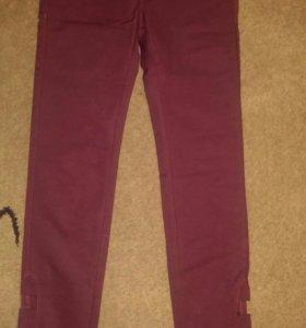 Новые симпатичное штаны бордового цвета