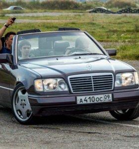 Мерседес 124 кабриолет