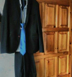 Костюм рубашка галстук рост 158