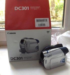НОВАЯ камера canon dc 301