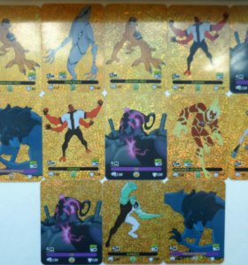 Карточки Ben 10 - 142шт.+БОНУС!