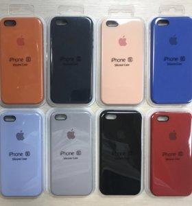 Чехлы Apple для iPhone 5/5s/5se Silicone Case