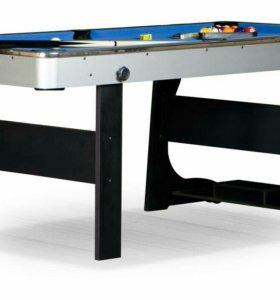 """Бильярдный стол для пула """"Team II"""" 6 ф (черный)"""