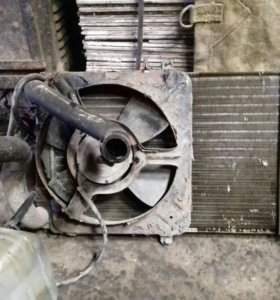 радиатор с вентилятор