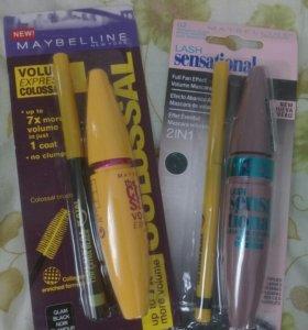 Набор тушь и карандаш