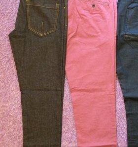 Новые джинсы Zara и брюки Topman, 46-48 размер