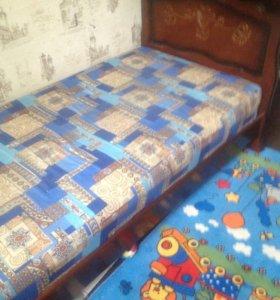 Кровать 1,5 новая
