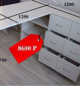Маникюрный стол с комодом