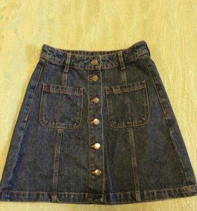 Юбка джинсовая H&M. Новая!