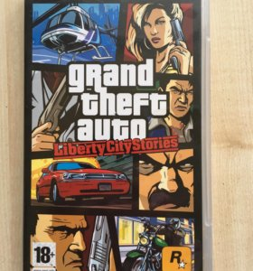 PSP игра GTA Liberty city stories