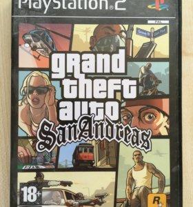 Play Station 2 игра GTA San Andreas