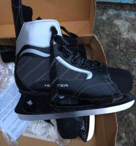 Хоккейные коньки размер 44-45