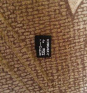 Флешка Micro SD 4GB