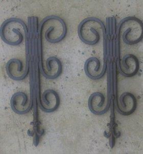 Декоративные навесы на ворота и калитку