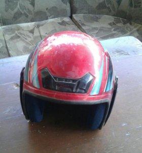 Шлем от мопеда