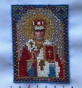 Вышивка бисером(иконы)