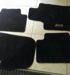 Коврик для салона  jeep