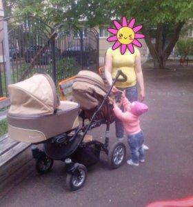 Коляска для двойни или погодок Babyactive Twinny