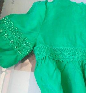 Платье shanel натуральный шелк