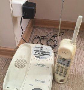 Цифровой радиотелефон с автоответчиком