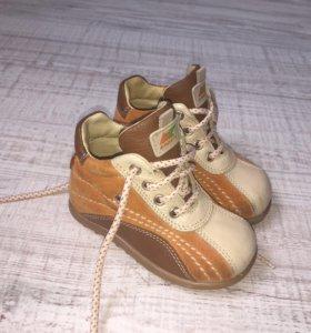 Ботинки детские кожа (весна/осень) 20 размер