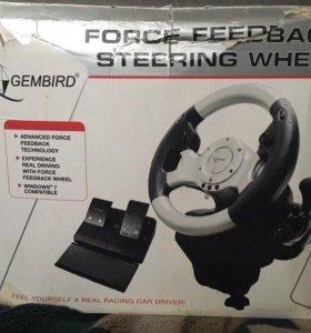 Продам Руль Gembird STR-FFB3 USB Force Feedback S