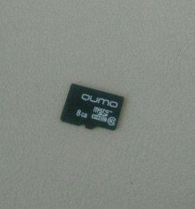 Карта памяти micro SD 8 гигабайт