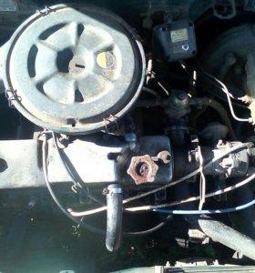 Двигатель и коробка 2109