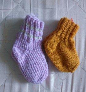 Шерстяные носочки новые