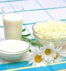 Молочные продукты из деревни