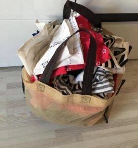 Пакет вещей в одни руки
