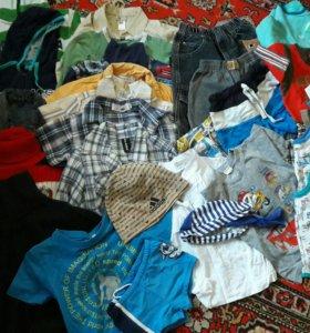 Вещи на мальчика рр 98 пакетом