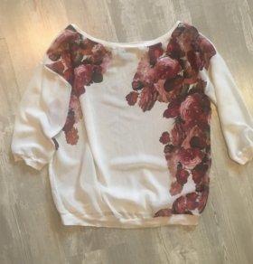 Прозрачная блузка Bershka