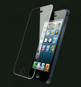 Защитные стекла на iphone 5,5$,6