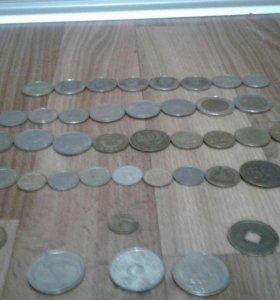 Коллекция монет из разных стран
